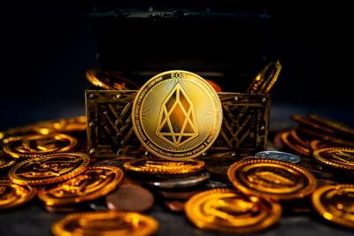 Монеты криптовалюты EOS
