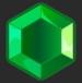 зеленый кристалл x2