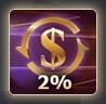 Cashback 2%