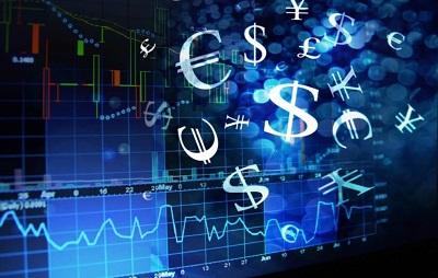 Знаки валют евро доллар и график