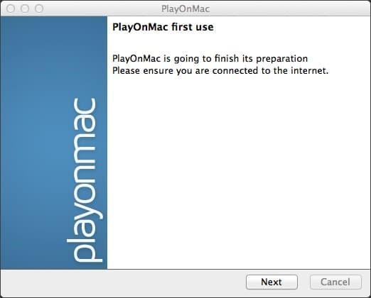 Установка PlayOmMac