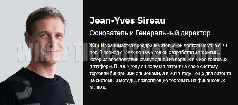 основатель брокера Deriv