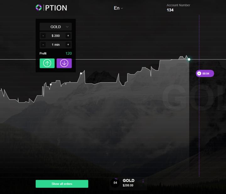 Торговая платформа GC Option
