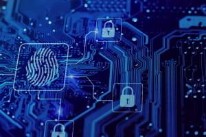 Отпечаток пальца Crypto com chain