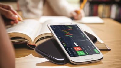 бинарные опционы мобильное приложение