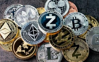 монеты разных криптовалют