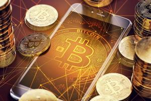 смартфон и биткоины