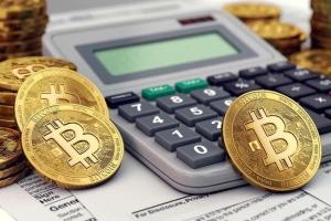монеты биткоина и калькулятор