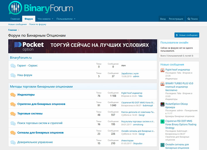Binary Forum