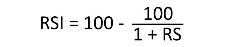 Формула индикатора RSI