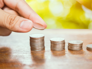 Стопки монет по АнтиМартингейлу
