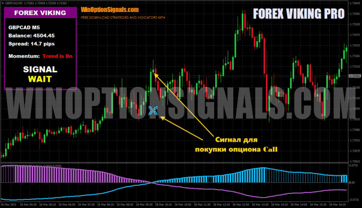 опцион call Forex Viking
